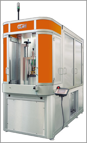 TVK-350 induction hardening machine