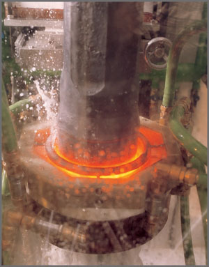 quench cycle of heat treating process