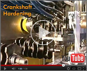 crankshaft hardening video still
