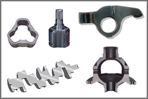 auto parts manufactured with induction heating