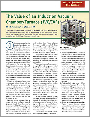 induction chamber/furnace white paper