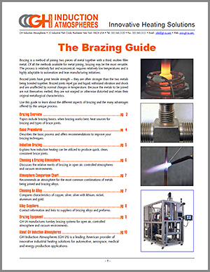 inductin brazing guide