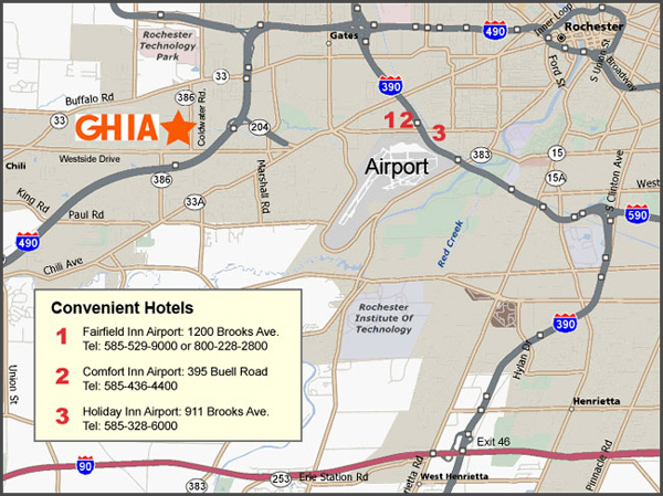 location map for GH IA