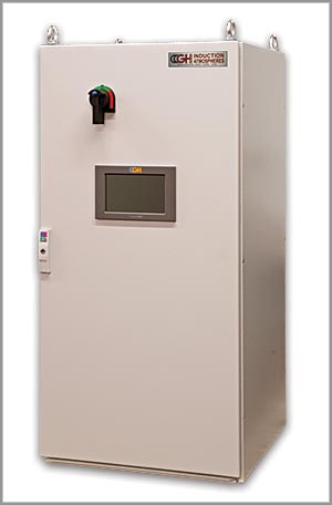 60kW power source for induction heating