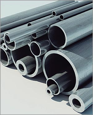 varying sizes and types of tubes